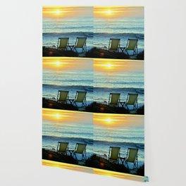 Modern Cambria CA Sunset Wallpaper