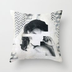 Torn 1 Throw Pillow
