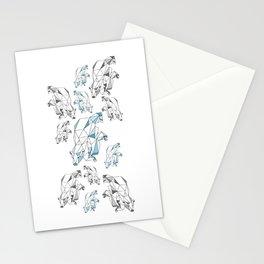 Polar bear population Stationery Cards