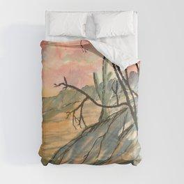 Southwestern Art Desert Painting Comforters