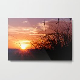 Sunset on Anna Maria Island Metal Print