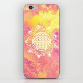 Flower Of Life (Batik 6) iPhone Skin
