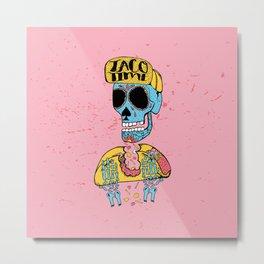 Taco Time Metal Print