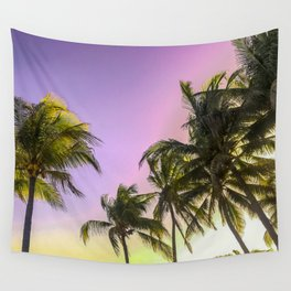 PURPLE AND GOLD SKIES 2 Wall Tapestry