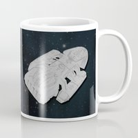 battlestar Mugs featuring Colonel Tigh 2 | Battlestar Galactica by The Minecrafteers