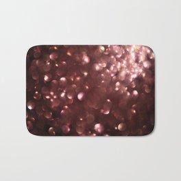 Dark Pink Sparkles Bath Mat