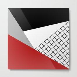 Colorful geometry 3 Metal Print