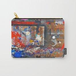 Fair, Jackson Pollock tribute, NYC artist Carry-All Pouch