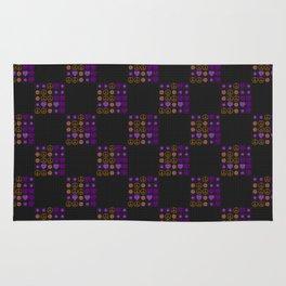Halloween Patchwork Weave Rug