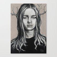 Branch: Postcard #1  Canvas Print