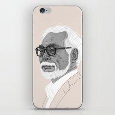 Hayao Miyazaki iPhone & iPod Skin