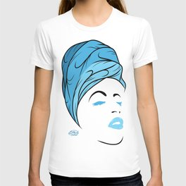 Lady Wrap (blue) T-shirt