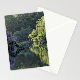 Summer lake reflections Stationery Cards