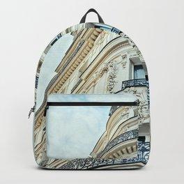 Paris Haussmannian Bulding Backpack