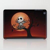 jack skellington iPad Cases featuring Jack Skellington Nightmare by neutrone