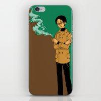 smoking iPhone & iPod Skins featuring smoking by Rairatoakane