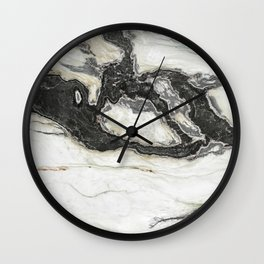 Granite Pattern 24 Wall Clock
