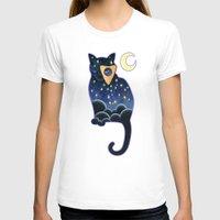 ouija T-shirts featuring Ouija Cat by Kiki Stardust
