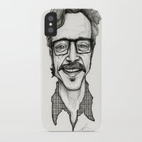 marc johns iPhone & iPod Cases featuring Marc Maron by Simone Bellenoit : Art & Illustration