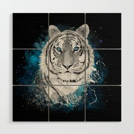 Tiger, don't stop...BE strong Wood Wall Art