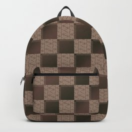 Funky Check (Taupical) Backpack
