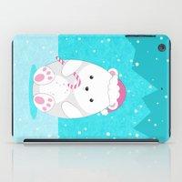 polar bear iPad Cases featuring Polar bear by eDrawings38