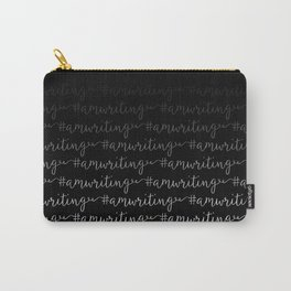 #amwriting in black Carry-All Pouch