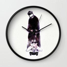 Tremor mortis Wall Clock