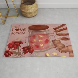how to make a love potion  Rug