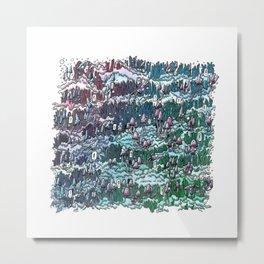 Little mushrooms –color Metal Print