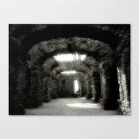 theatre Canvas Prints featuring Theatre by Rainer Steinke