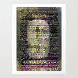 9 Art Print