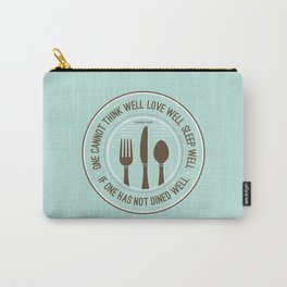 Dined Well Carry-All Pouch