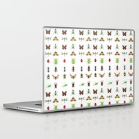 insects Laptop & iPad Skins featuring insects by Alysha Dawn