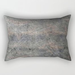 Scratched Suede Velvet Mouse - Navy Gradient Rectangular Pillow