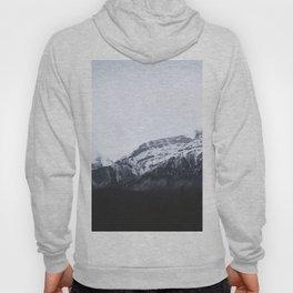 MOUNTAINS - LANDSCAPE - FOG - SNOW Hoody