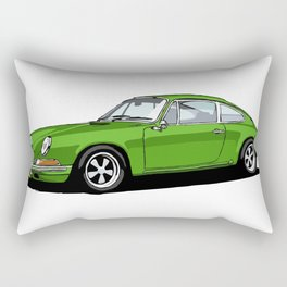 GREEN FROG Rectangular Pillow