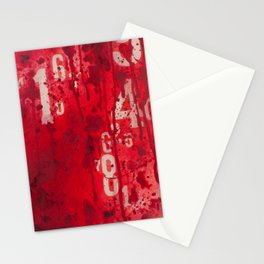 Numeric Values: Slash the Budget Stationery Cards