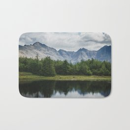 Cuillin Ridge - Isle of Skye, Scotland Bath Mat