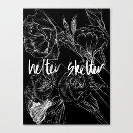 HELTER SKELTER INVERTED Canvas Print