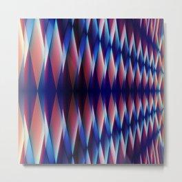 Pattern abstract 1 Metal Print