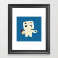 MUMMY'S BOY Framed Art Print