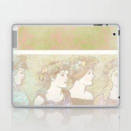 Abstract Pattern:  Shabby Damask Maidens Laptop & iPad Skin
