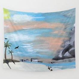 Summer Storm Wall Tapestry
