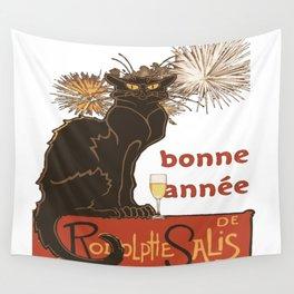 Bonne Annee Happy New Year Parody Wall Tapestry