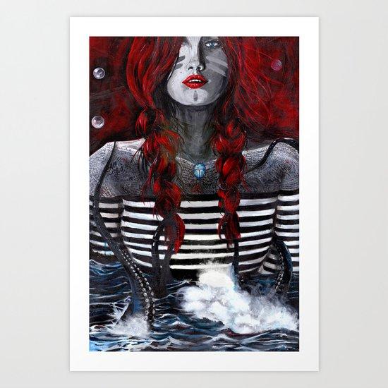 Nereid (one) Art Print
