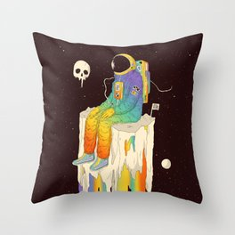 Ponder Until You Lose Yourself Throw Pillow