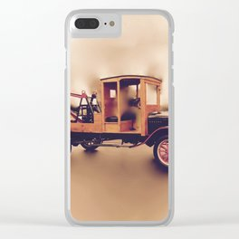 Vintage Model T Wrecker Clear iPhone Case