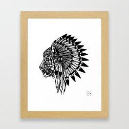 Chief of Pride  Framed Art Print