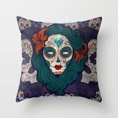 Muerto Ladies Throw Pillow